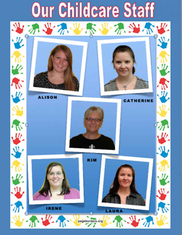 2015 Child Care Staff