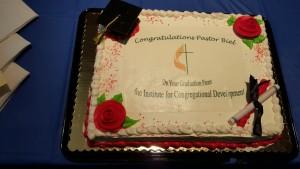 Pastor's Graduation Cake
