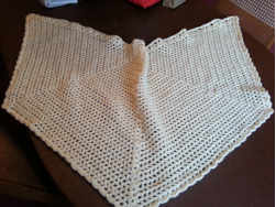 Caring Crafters angel wings prayer shawl