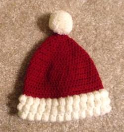 Caring Crafters Santa hat