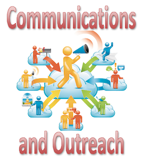 Communication & Outreach Logo