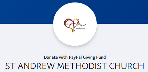 Saint Andrew PayPal Page Logo